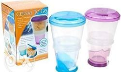 Keep your milk cold and separate from your cereal. The