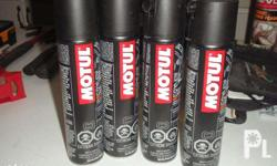U.S. made. White chain lubricant designed for racing &