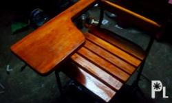Arm chair, for schools and daycare center. Made of wood
