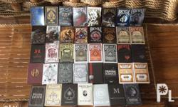 All decks are brand new. Please check my facebook page,