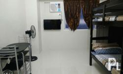 Long term min 6mos Studio type fully furnished with