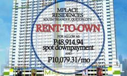 Ready For Occupancy Rent To Own Mplace Residences 15%
