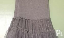 Gray ballerina dress for Age 4-6 yrs old / very good