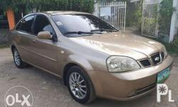 Chevrolet Optra 2004 A/T AUTOMATIC TRANSMISSION 100%