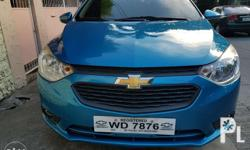 -Chevrolet sail 2017, blue, m/t 13tkm casa maintained -