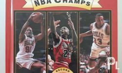 Mint Chicago Bulls 72 win coffee table book! - Like