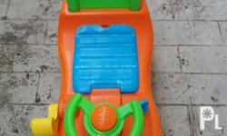 Chicco car for kids age 1 year and above. For serious