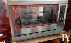 chicken cooker or oven capable of 12 to 16 chickens at