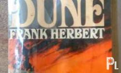 80s popular science fiction book by frank herbert the