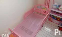 Princess Bed for girl toddler, frame was bought USED in