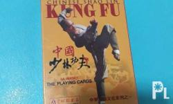 Chinese Shao Lin Kung Fu Playing Cards 1 Deck From Hong