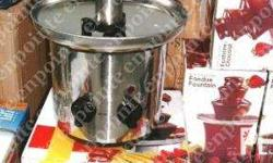 Stainless Steel Chocolate Fountain 3 layers 15 inches
