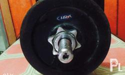 For Sale! Dumbell Brand: Chris Capacity: 10lbs each