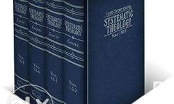 Systematic Theology by Lewis Sperry Chafer - 3Books -