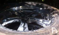 For sale Chrome mags or rims 18 inches Slighlty used