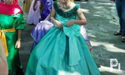 Cinderella Inspired gown/dress For 7-9 yrs old Color: