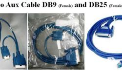 Cisco Aux Cable DB9 and DB25 to RJ45 Brand New 1 Month