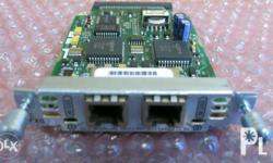 Cisco VIC-2FXS Voice Interface Card With the Cisco VIC