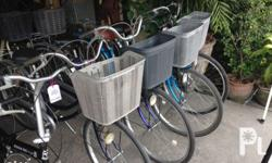 City bikes (Japan Surplus) 26 in tires Single tube With