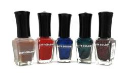 CITY COLOR NAIL POLISH *Helps prevent chipping,