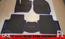 2014-18 Honda city Premium rubber mat brand new set of