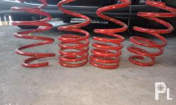 For sale only.civic fd lowering springs Whiteline