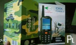 CKK Power 5 all in one cellphone Can be used as