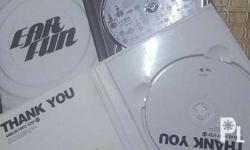 CNBLUE Thank you and Earfun album just for 500. I will