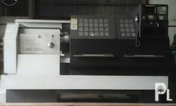 brand new cnc lathe for inquiries look for mitch txt or