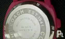 Coach Authentic Watch