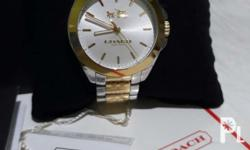 Authentic coach wrist watch. Complete inclusions. Good