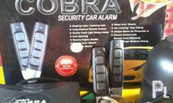 cobra alarm is a well known brand for car alarms. FREE