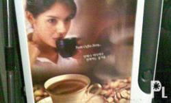 used coffee vendo . .. issue: palyado po ung isang