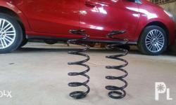 This is a stock rear coil spring taken from Mirage G4.