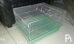"""13"""" L 11"""" W 9"""" H Colapsable hamster cage with second"""