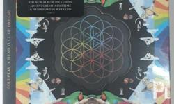 Coldplay A Head Full of Dreams Import Brandnew and