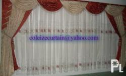 WE MADE TO ORDER, Elegant and Fashionable Curtains...