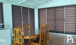 Combi Blinds / BZ-116 Php.200.00/sq. ft Pattern: plain