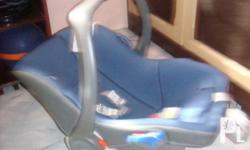 Deskripsiyon BLue Eggshock Combi brand Baby Carseat and