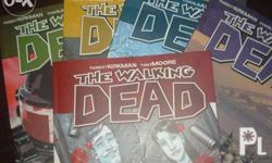 The Walking Dead Comics Vol 1-8 Brand New P350 each