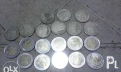 Commemorative Coins: Php 5 = Php 30 / coin Php 10 = Php