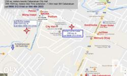 Commercial lot and warehouse for rent in Cabanatuan