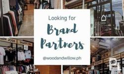 Hi! WE ARE LOOKING FOR BRAND PARTNERS Wood & Willow is