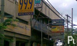 commercial store space for long term lease in Barangay