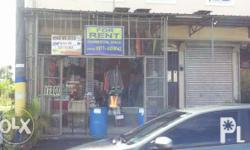 Commercial Space For Rent with 2nd floor. Note: use