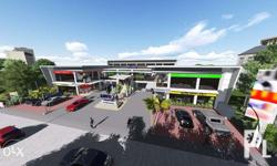 A 3 storey retail Strip Mall in Bohol that will