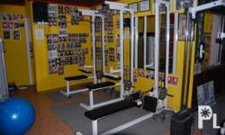 RUSH sale..... complete set of gym equipments,, for