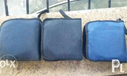 Selling all of these cd/dvd bags. In good condition.