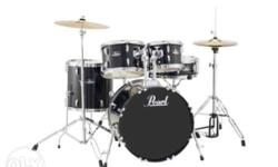 For Sale: Pearl Target Drumset Complete Set Good as