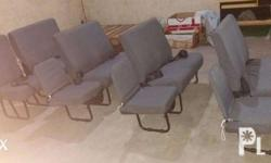 complete set of seats for Nissan NV350 15 seater.